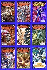 SECRET WARS #1 2 3 3rd 4 5 6 7 8 9 ALEX ROSS SPIDER MAN X-MEN MARVEL NOW 2015