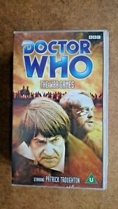 Doctor Who The War Games  (VHS 2002) - Patrick Troughton