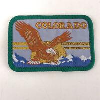 "Vintage Colorado eagle mountain patch 3""x2"" k3"