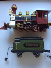 G Gauge PlayGo Loco, Tender, Carriage And Wagon a/f