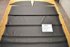 1974 74 DODGE CHARGER SE BLACK NON PERFORATED HEADLINER 4 BOW USA MADE