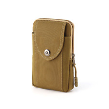 Men Nylon Waist Bag Belt Loop Holster Wallet Case Purse Phone Pouch Sleeve Cover