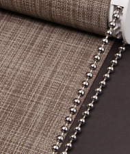 Roller ,Roman Blind Metal NIickle Beaded Chain- 4.5MM Ball - Sold ByThe Meter
