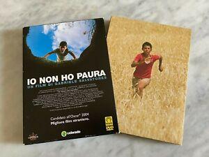 """DVD """"IO NON HO PAURA"""" RARO EDIZIONE SPECIALE 2 DVD SALVATORE ABATANTUONO MEDUSA"""