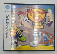 Disney Phineas & Ferb Ride Again Nintendo DS, Game 2009 Complete Free Shipping