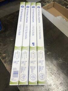 """GE 24"""" Plant & Aquarium F20 T12 Bulbs 20w Fluorescent Light Bulbs - 4 Bulbs."""