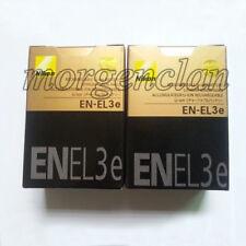 2 x EN-EL3e EL3e Battery for NIKON DSLR D80/D300/D700/D90/D70/D80S DC New