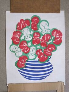 Blooming Art - Supreme Magic Company - Vintage Paper Tear - Spring Flowers