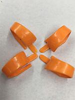 Fred Kelly Derlin Speed Picks  THUMB PICKS D3 Medium 4 PICKS Orange