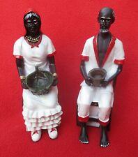 Cuban Santeria ~ Folk Saints Francisco & Francisca Altar Statues
