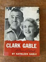 Clark Gable A Personal portrait by Kathleen Gable(1961, Hardcover) FIRST EDITION