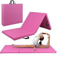 ❥Heavy Duty Folding Mat Thick Foam Fitness Exercise Gymnastics Panel Workout