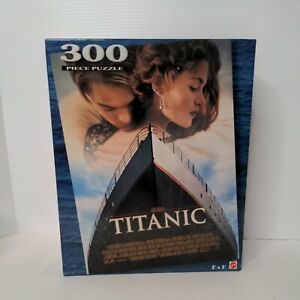 New Sealed 300 Piece Jigsaw Puzzle, Titanic Movie Poster Image, 2 Ft x 3 Ft Size