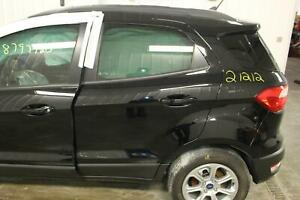 2018 19 20 FORD ECOSPORT Left Side Painted Black Privacy Tint LH (Rear Door)