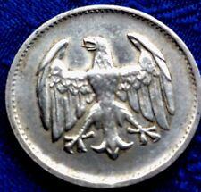 MONNAIE ANCIENNE EN ARGENT 1 MARK  1924 D  BAYERISCHES  a voir !!!!!!