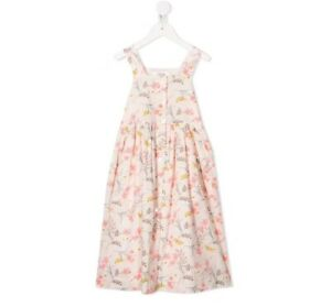 New Bonpoint Girls Laly dress Ecru Size 10