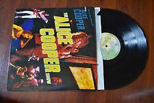 Alice Cooper Show Heavy Metal Record lp VG+