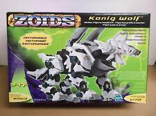 Zoids #053 Konig Wolf 2002 Hasbro 1/72 Scale Nib Sealed