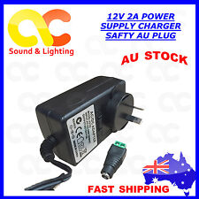 AC240V to DC 12V 2A Power Supply Adapter Charger Converter AU Plug 5.5mm * 2.5mm