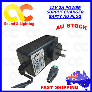 AC240V to DC 12V 2A Power Supply Adapter Charger Converter AU Plug 5.5mm * 2.1mm