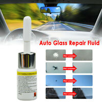 Car Window Glass Crack Chip Resin Glue Windscreen Windshield Repair DIY Tool KIT