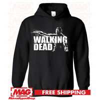 THE WALKING DEAD HOODIE Zombie Hooded Sweatshirt AMC Show Hunter Daryl Dixon TWD