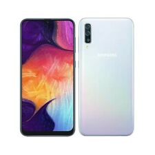 Unlocked Samsung Galaxy A50 SM-A505W White 64GB 'Good Condition' with 3 warranty