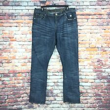Apple Bottoms Womens Size 14 Slim Straight Leg Dark Wash Denim Jeans