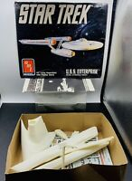 AMT Ertl Star Trek U.S.S. Enterprise Kit 6676 PARTS-NOT COMPLETE-AS-IS