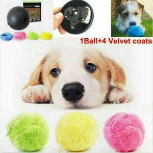 Magic Roller Ball Toy Automatic Pet Dog Cat Active Rolling Ball Electric Toys AU