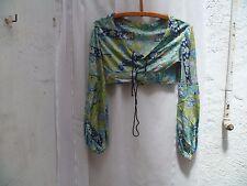 Vintage vêtements femme 2 pièces pantalon et haut d'été
