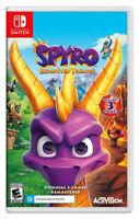 Spyro Reignited Trilogy Nintendo Switch Brand New Sealed