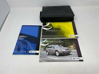 2010 Subaru Forester Owners Manual Handbook Set with Case OEM Z0B0656