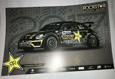 2017 Tanner Foust Rockstar Volkswagen Andretti Autosport GRC Rallycross poster