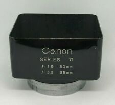 """ Near Mint "" Canon SERIES VI 50mm f1.9 35mm f3.5 Metal Lens Hood From Japan 530"