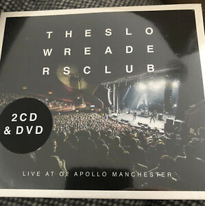 SLOW READERS CLUB - LIVE O2 APOLLO MANCHESTER [2CD+DVD] NEW & SEALED. Freepost