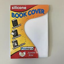 Kittrich Promarx Jumbo Silicone Stretchable Book Cover Waterproof Fits 8