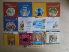12 CHILDRENS PROMO AUDIO CDS WIND IN THE WILLOWS ALICE POOH AKIMBO THE CAT MUMMY