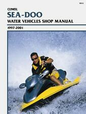 SEA-DOO ALL MODELS 1997-01 WATERCRAFT REPAIR MANUAL, BOOK W810