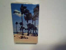 PALM TREES PEOPLE ON THE BEACH PLAYING CARDS SEALED plastic coated,ocean,K joker