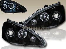 2005-2006 ACURA RSX HALO PROJECTOR HEADLIGHT BLACK NEW
