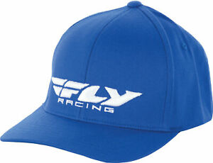 Fly Racing 351-0381L Podium Hat Lg-XL Blue