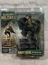 "McFarlane Military Series 3 Navy Seal BOARDING UNIT 6"" Figure New In Package."