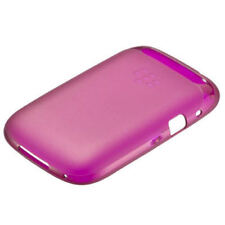 Black Berry Curve 9320 9310 9220 Soft Shell Fuchsia Pink Protection Back Case