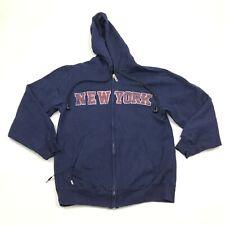 HoodieBuddie Full Zip Hoodie Sweater Small New York BUILT IN WASHABLE HEADPHONES