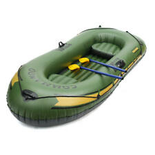 2-3 Persons PVC Inflatable Boat Rubber Dinghy For Kayaking Canoeing Rafting Fish