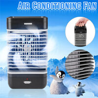 USB Portable Mini Air Conditioner Cooler Fan Humidifier Bedroom Office  5