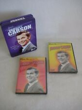 Here Is The Johnny Carson Show - Set of 2 Dvd's In Collector Tin New Sealed Disc