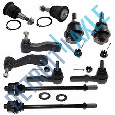 New 10pc Complete Front Suspension Kit Avalanche Silverado Sierra Yukon H2