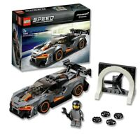 LEGO 75892 Speed Champions McLaren Senna Model Racing Toy Car Kids Building Set